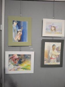 exposition des artistes du moulin octobre 2015