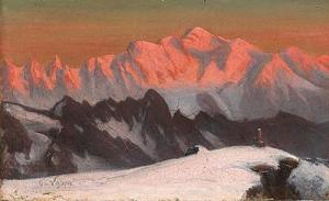 La chaîne du Mont Blanc johnmitchell.net