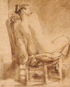 dessin de Van Rijn (élève de Rembrandt)