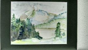 paysage:lac en montagne