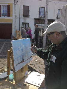 Un autre peintre: Laurent Petit!
