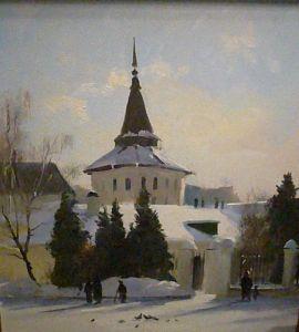 paysage russe Sergueï Toutounov