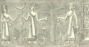 bas relief babylonien