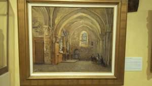intérieur de l'église d'osny Tornley