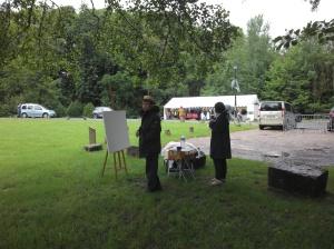 Hafid et Aziza Paksad s'installent après la pluie