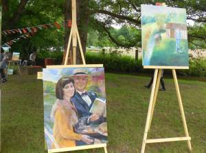 tableau de Gueorgui chichkine et mon tableau