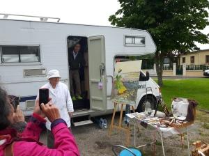 Thérèse et son camping car