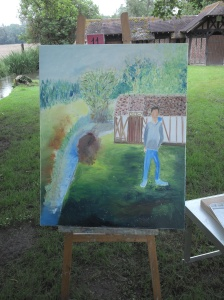 mon tableau le vendredi soir après quelques heures de travail