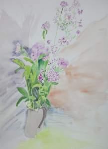 bouquet de fleurs de montagne (autre vue)