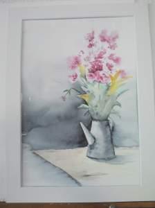 bouquet peint par Annie