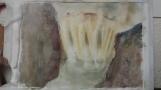 Détail de la cascade aquarelle pascale coutoux