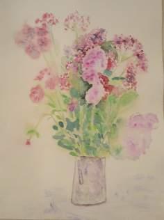 bouquet de fleurs de montagne