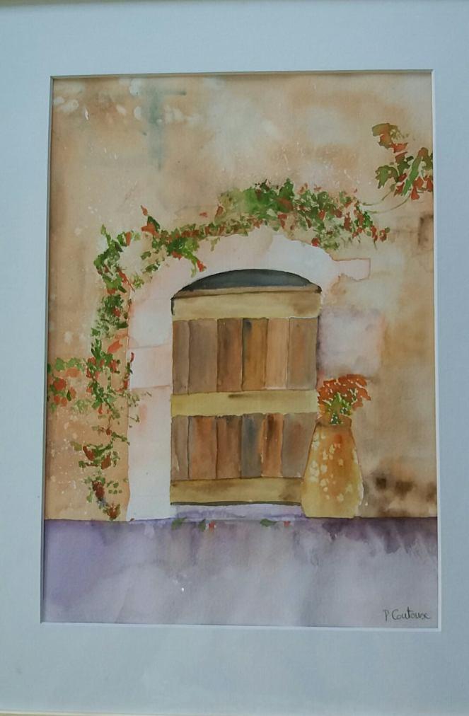 la vieille porte retravaillée