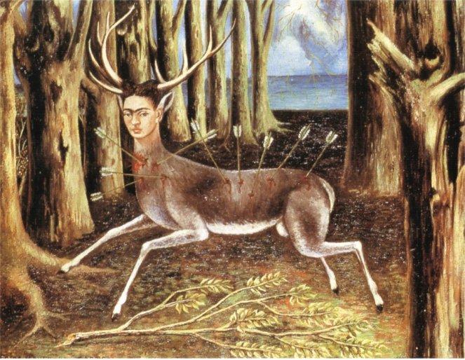 le cerf blessé, 1946