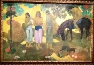la cueillette des fruits gauguin