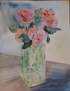 bouquet de roses 1ère version