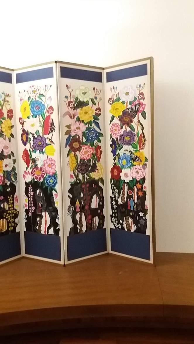 printemps kim chong hak 2006 acrylique sur papier 159x4905