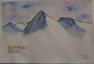 carte montagne fêtes