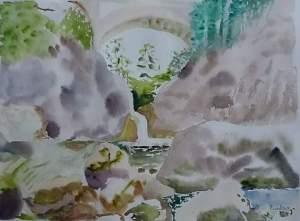 la gouille aquarelle