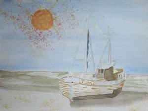 Poussières de soleil sur un voilier (non encadré)_redimn