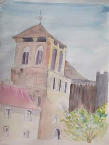 Saint-Yriex aquarelle