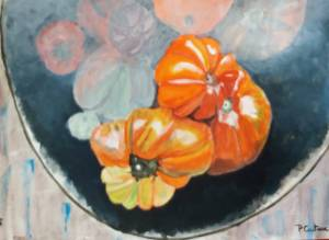 tomates anciennes acrylique